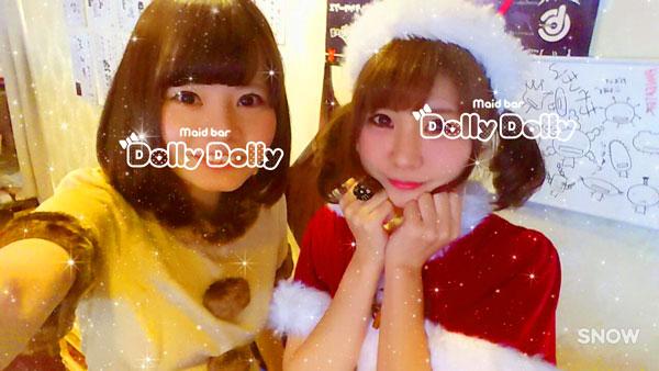 クリスマスイベントのスタッフ写真